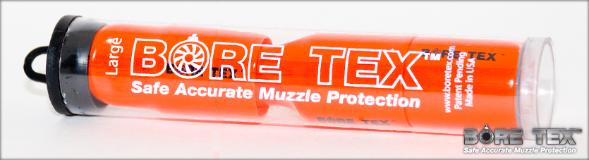 BORE TEX: Safe Accurate Muzzle Protection